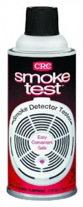 spray smoke for smoke alarm testing