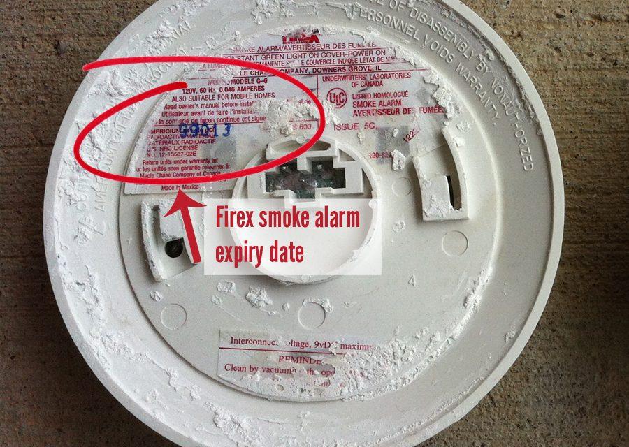FireX smoke alarm chirping or beeping?